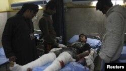 Еден од повредените при нападите во Багдад