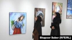 برگزاری نمایشگاه نقاشی در ولایت هرات. Jan.07.2020