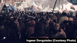 Євромайдан, Київ, 11 грудня 2013 року (фото: Ingwar Dovgoteles)