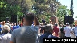 Protest zbog predloženog ukidanja imuniteta Medojeviću