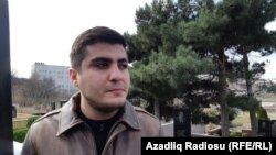 Azeri žurnalisti, korrupsiýa garşy blogçy Mehman Huseýnow. 2-nji mart, 2019.