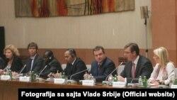 Sastanak sa ambasadorima i predstavnicima međunarodnih institucija
