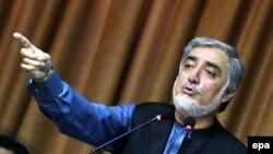 د افغانستان اجرایه رئیس ډاکټر عبدالله