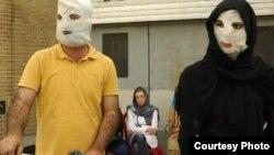 Pamje nga një shfaqje teatrore për sulmet me acid