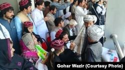 میرانشاه مرکز وزیرستان شمالی دیروز میزبان یک جلسه وسیع تحریک تحفظ پشتونها بود ،۱۴ آپریل ۲۰۱۹
