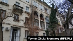Дом номер 3 на улице Сергеева-Ценского в Севастополе