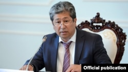 Daniyar Narymbaev faces charges of corruption, bribe-taking, and abuse of office.