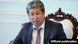 Қырғызстан президенті аппаратының бұрынғы жетекшісі Данияр Нарымбаев.