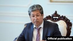 Данияр Нарымбаев в бытность руководителем аппарата президента Кыргызстана.