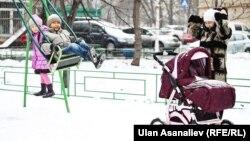 Москвадагы кыргыз балдар. (Архивдик сүрөт)