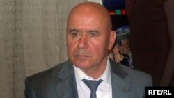 Täjigistanyň Badagşan welaýatynyň Milli Howpsuzlyk Komitetiniň uprawleniýesiniň başlygy Abdullo Nazarow. Noýabr, 2009.
