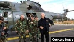 وزير الدفاع وقائد الجيش يتفقدان الوحدات في راس بعلبك،27 شباط 2015