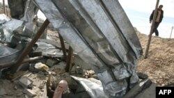 Одной целей авиаудара были тоннели, ведущие из Газы в Египет