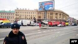 Sankt Petersburg după explozia din metrou, 3 aprilie 2017