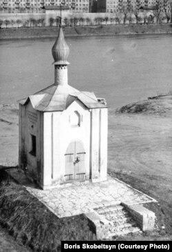 Анастасиевская часовня. Архив Б.Скобельцина