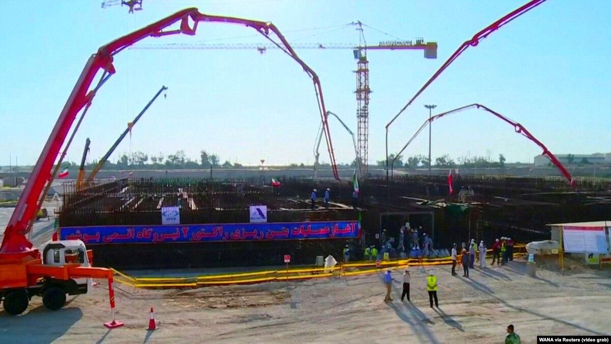 Иран начал строить второй реактор на АЭС в Бушере