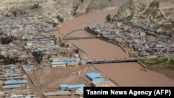 """The head of Iran's Red Crescent relief organization says the town of Pol-e Dokhtar is in a """"super-crisis"""" situation."""