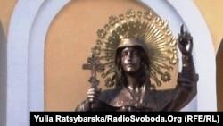 Пам'ятник Св.Катерині у Дніпропетровську