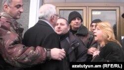Акция протеста сотрудников завода «Наирит» (архив)