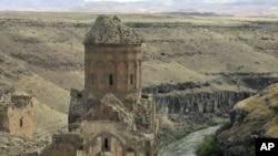 Античное сооружение на территории Турции. Иллюстративное фото.