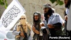 Боевики «ИГ» в Афганистане.