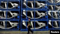 БМВ заводы. Қытай, 6 шілде 2013 жыл. (Көрнекі сурет)