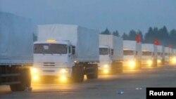 Російський гуманітарний конвой виїхав до України, 12 серпня 2014 року