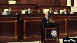 Artur Rasi-zadə hökumətin hesabatını təqdim edir - 14 mart 2014