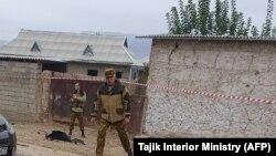 Фото с места происшествия с сайта МВД Таджикистана. Позже оно было удалено