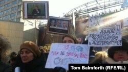 Москванын борборундагы Жаңы Арбат көчөсүндөгү митинг, 10-март, 2012