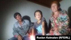 Семья без света в Ношкене