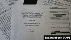 Raportul Mueller în forma redactată de Ministerul Justiției