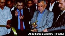 وزير النقل العراقي هادي العامري يفتتح الميناء الجاف في أم قصر
