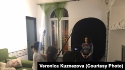 Ереван. Съемки фильма о домашнем насилии