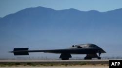 Американский бомбардировщик B-2. Иллюстративное фото.