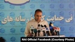 مجیب خلوتگر رئیس اجرایی نهاد نی
