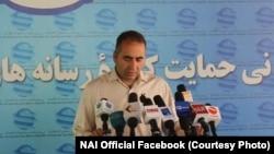 مجیب خلوتگر، رئیس اجرایی نهاد حمایت از رسانههای آزاد افغانستان