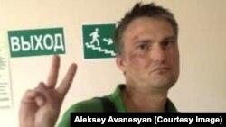 Адвокат Михаил Беньяш после избиения