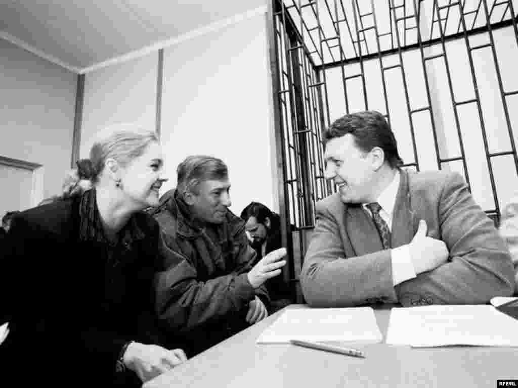 В Ошмянском суде, 1998 год