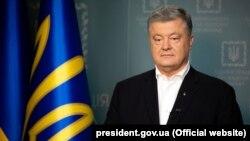 Petro Poroshenko, keçmiş Ukrayna prezidenti. Kyev, 19 may,2019