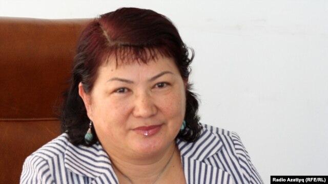 Гульсара Алтынбекова, руководитель департамента миграции по городу Алматы. 9 августа 2010 года.