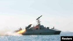 Sjevernokorejska vojna vježba na moru, ilustrativna fotografija