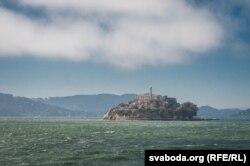 Астравок Алькатрас у затоцы Сан Франсіска з славутай турмою