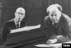 Сергей Прокофьев и Сергей Эйзенштейн, 1943 год
