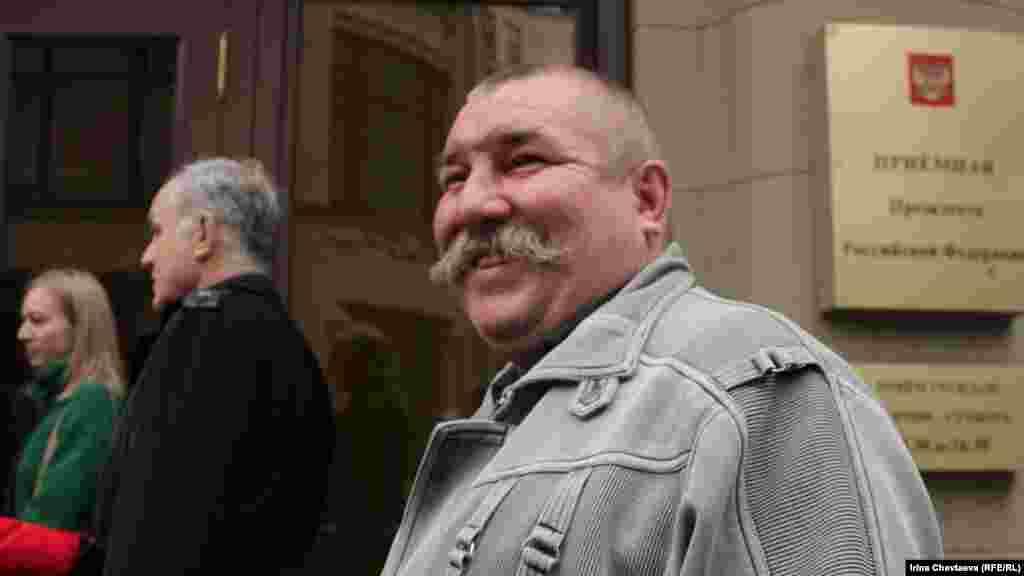 Житель дома во Внуково, бывший военный Андрей Гацюк