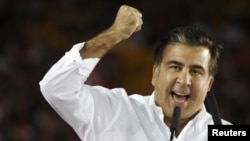 Georgian President Mikheil Saakashvili said he considered Georgian Dream's program unacceptable and fundamentally wrong, and that he would fight to preserve what his party had achieved.