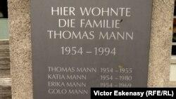 Cu Thomas Mann în Elveția