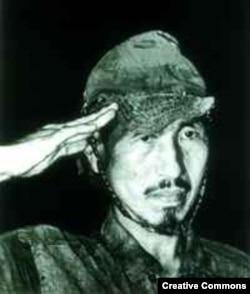 Таким Хироо Онода вышел из леса в 1974 году
