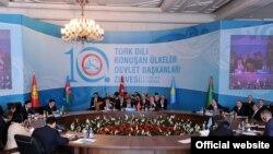 Түрк тилдүү өлкө башчыларынын саммити, Стамбул, 16-сентбярь.