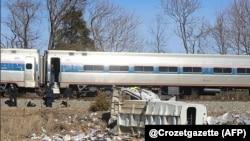 این سومین حادثه تصادف قطارهای شرکت آمترک طی دو ماه گذشته است.